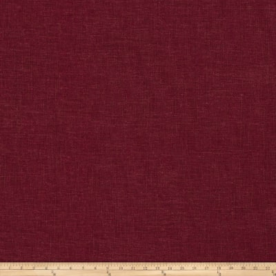Fabricut Haney Linen Viscose Plum