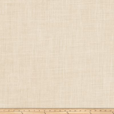 "Fabricut Lisa 127"" Sheer Linen Blend Cream"
