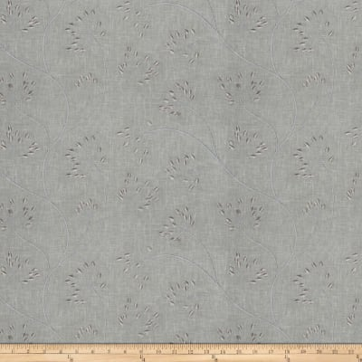 Fabricut Nadu Embroidered Slate