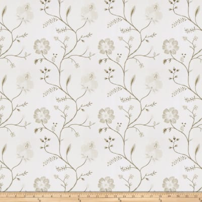 Fabricut Ostentatious Chenille Ivory