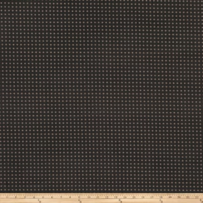 Fabricut Perforated Faux Suede Charcoal
