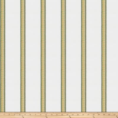 Kendall Wilkinson Sunbrella Pier Stripe Indoor/Outdoor Jacquard Reed