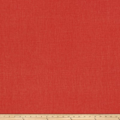 Fabricut Principal Brushed Cotton Canvas Coral