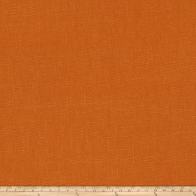 Fabricut Principal Brushed Cotton Canvas Pumpkin