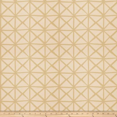 Fabricut Rohu Lattice Jacquard Citrus