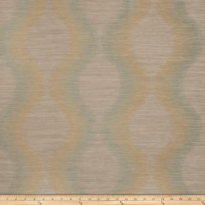 Fabricut Simple Plan Faux Silk Lagoon