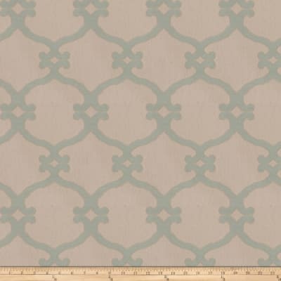 Fabricut Snipes Lattice Jacquard Tidewater