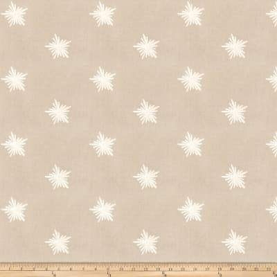 Fabricut Star Cluster Embroidered Chino