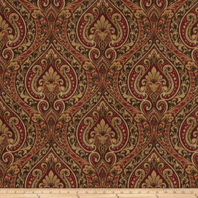 Fabricut Thomaston Chenille Ruby