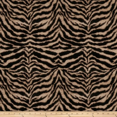 Fabricut Tigress Too Chenille Ebony