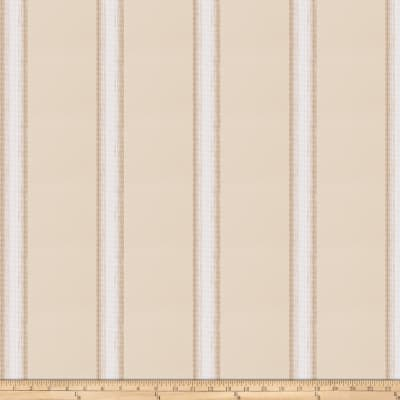 Fabricut Tunie Stripe Taffeta Natural