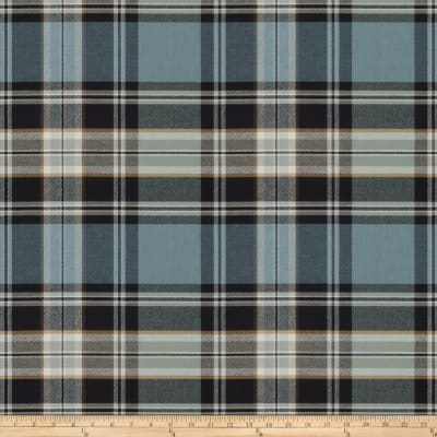 Fabricut Values Twill Plaid Blue