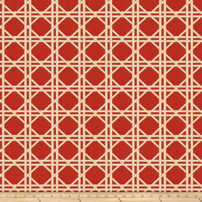 Fabricut Vlad Lattice Jacquard Red