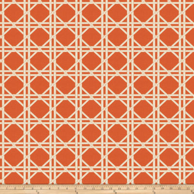Fabricut Vlad Lattice Jacquard Orange