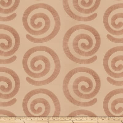 Fabricut Warm Hearted Satin Jacquard Cameo