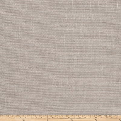 "Fabricut Wilhelmina 125"" Sheer Linen Blend Fieldstone"