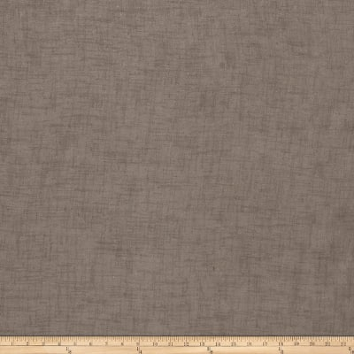 """Fabricut Winifred 118"""" Sheer Voile Sable"""