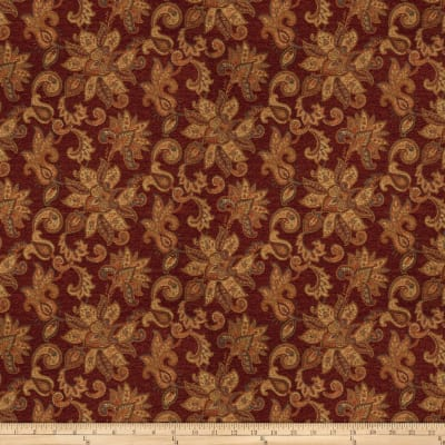Trend 03464 Chenille Jacquard Ruby