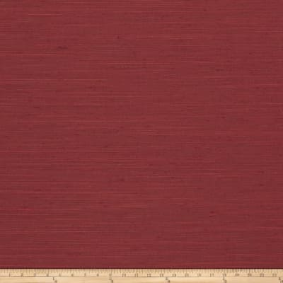 Trend 03594 Faux Silk Solid Cranberry