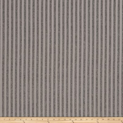 Trend 03605 Basketweave Stripe Blackout Titanium