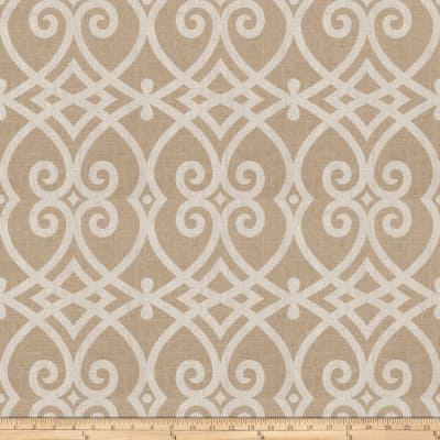 Jaclyn Smith 03730 Metallic Linen Silver