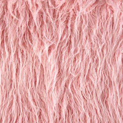 Shannon Luxury Faux Fur Curly Yak Fur Ballerina