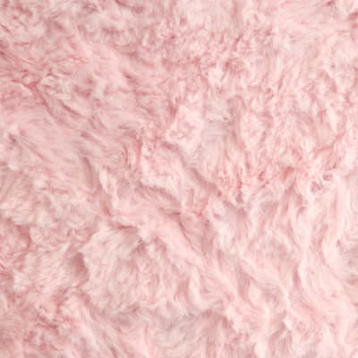 Shannon Minky Luxe Cuddle Marble Baby Pink