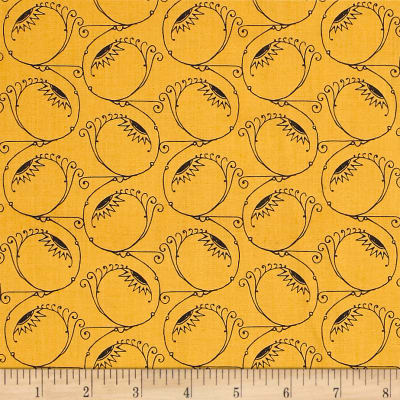 QT Fabrics Queen Of We'en Swirl Sight Pumpkin