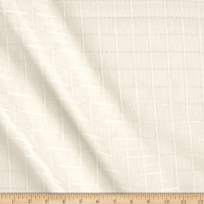 Richloom Yuma Ivory Sheer