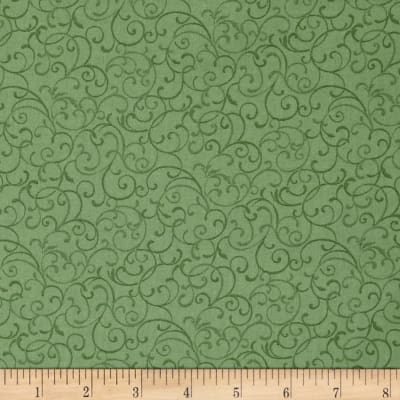 Glorious Hummingbirds Mini Scroll Green