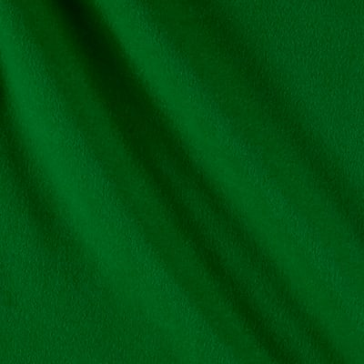 Flannel Cotton Solid Blue Grass Green
