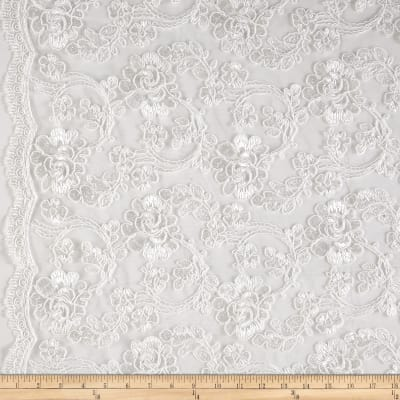 Starlight Mesh Lace Rosedale Ivory