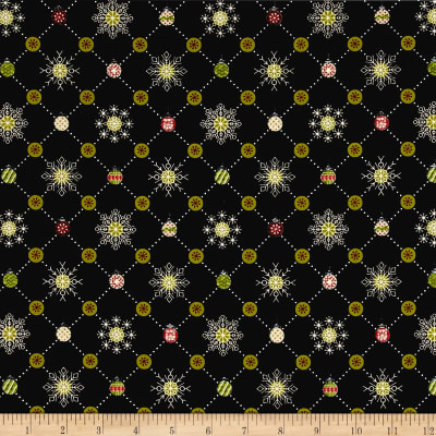 Glad Tidings Plaid Black