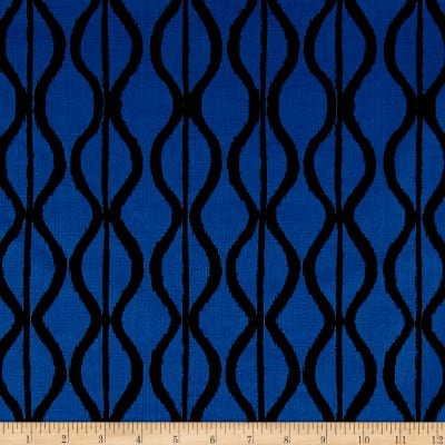Twilight Hourglass Stripe Twilight Blue