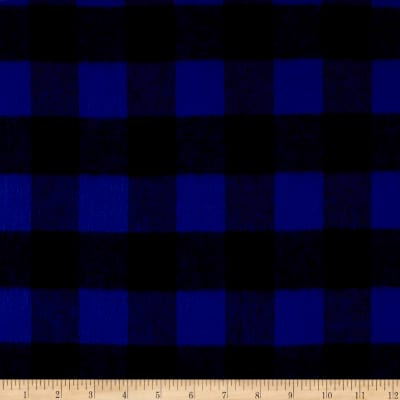 Primo Plaids Classics Flannel Buffalo Check Blue
