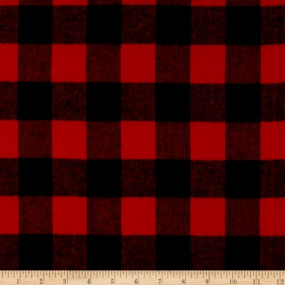 Primo Plaids Classics Flannel Buffalo Check Red
