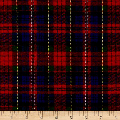 Primo Plaids Classics Flannel Tartan Red/Blue