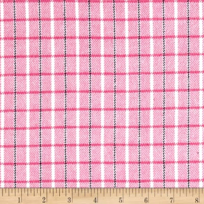 Marcus Primo Plaids Color Crush Flannel Small Plaid Pink