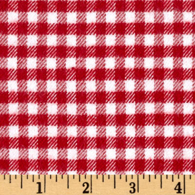 Marcus Primo Plaids Color Crush Flannel Gingham Check Red