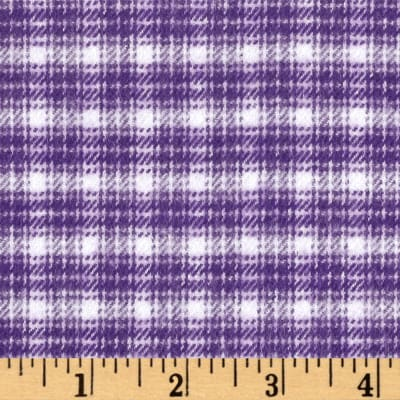 Marcus Primo Plaids Color Crush Flannel Plaid Purple