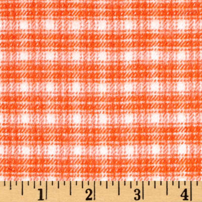 Marcus Primo Plaids Color Crush Flannel Plaid Orange