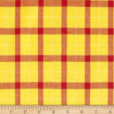 Primo Plaids Color Crush Flannel Big Block Yellow/Red