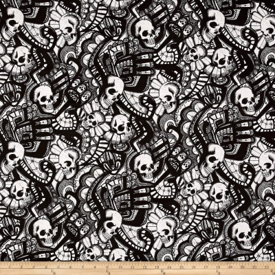 Alexander Henry Skullduggery The Catacombs Black/White