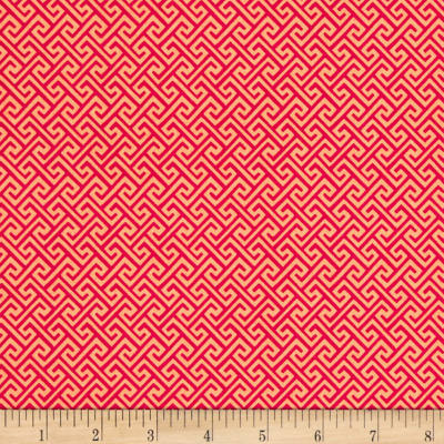 Riley Blake Sundance Geometric Red