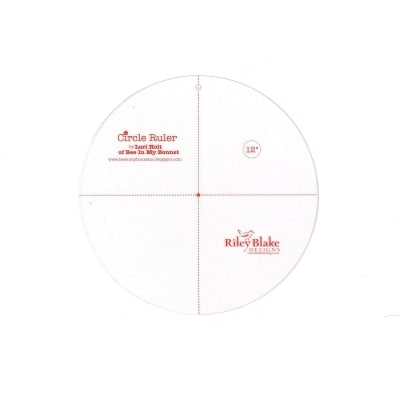 Lori Holt Circle Ruler 12 Inch