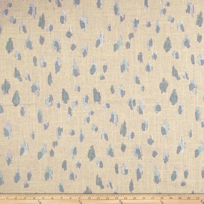 Lacefield Asher Swedish Blue Pearlized Canvas
