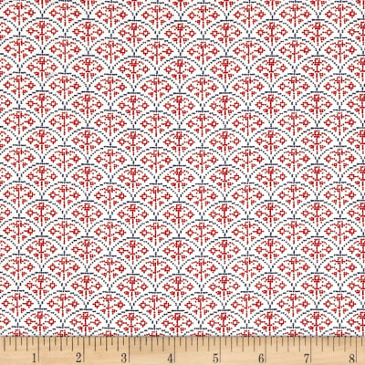 Moda Nordic Stitches Rose Arc Raud-Sno