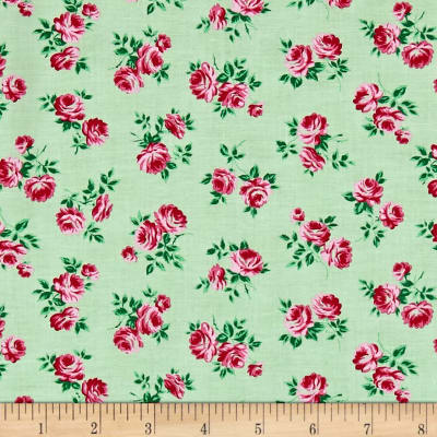 Verna Mosquera Peppermint Rose Rosettes Pine
