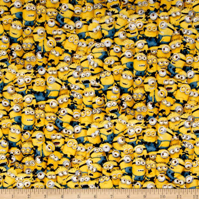 Millions Of Minions Packed Minions Yellow