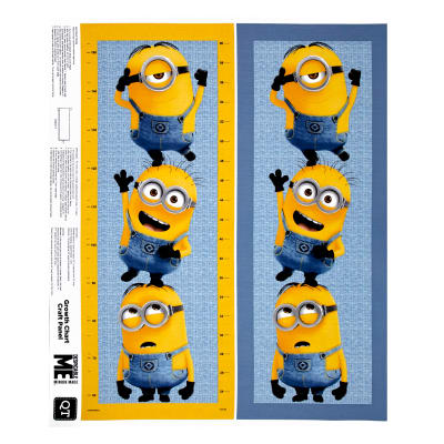 "Millions Of Minions Minion Growth Chart 35.5"" Panel Multi"